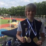 Levi mit Medaillen bei den Oberbayerischen Meisterschaften