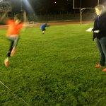Athlet Springt für Leistungstest