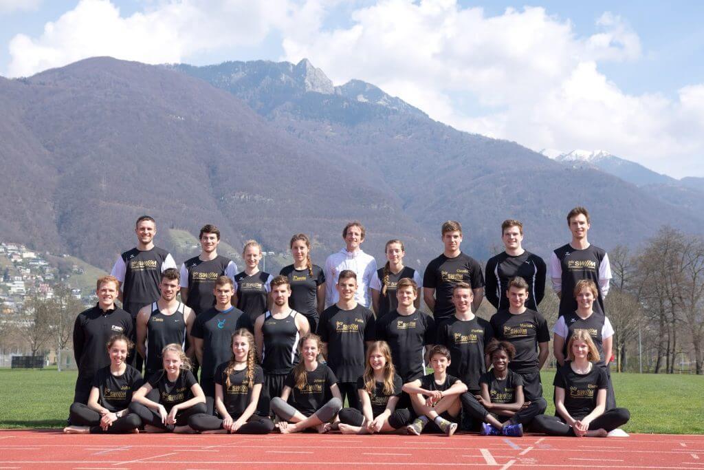 Das LFZ Team im Trainingslager